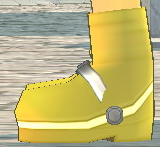 Equipped  Anti-Fomor Boots (F) viewed from the side