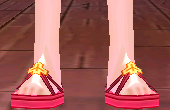 Bright Elven Summer Sandals (M) Equipped Front.png