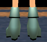 Equipped  Cores' Boots (F) viewed from the back