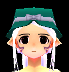 Cores' Ribbon Hat Equipped Front.png