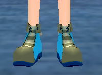 Adorable Raccoon Shoes (Male) Equipped Front.png