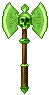 Skull Battle Axe