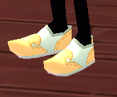 Equipped  Hanbok Shoes (M) viewed from an angle